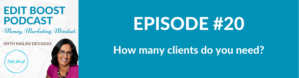 How many clients do you need