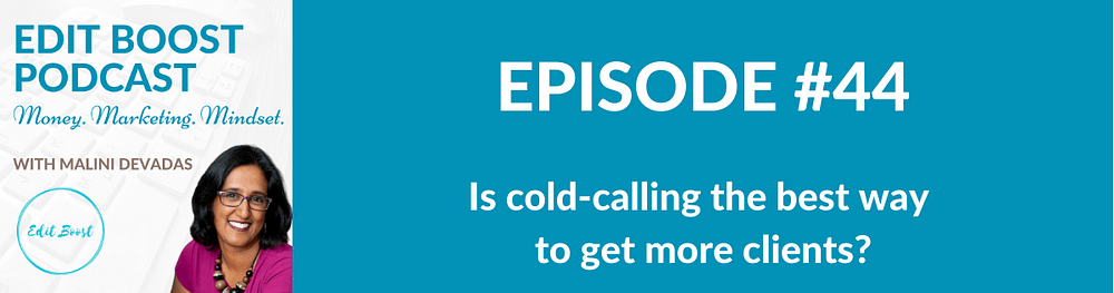 Is cold-calling the best way to get more clients